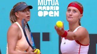 Sharapova vs Mladenovic Full Highlights / Mutua Madrid Open 2018 / Round 3