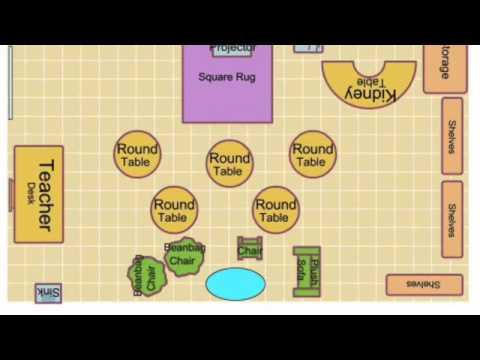 Classroom Floor Plan