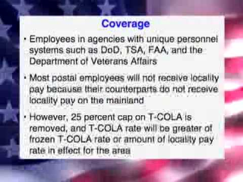 *PACOM Locality Pay COLA conversion pt 2