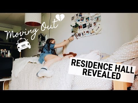 Last Day & Moving Out // WHAT FRESHMAN DORM HALL I LIVE IN? (Fordham University)