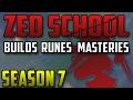 Zed School: Build, Runes & Masteries in Season 7