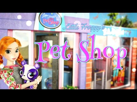 DIY - How to Make: Little Froggy's Pet Shop - Handmade - Doll - Crafts