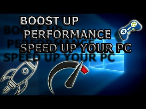 How to Speed Up Your PC Performance Windows 7,8,10 (Best setting for gaming) 2018