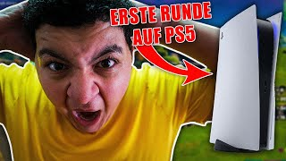 😏Meine erste Runde Fortnite auf der neuen Playstation 5😍