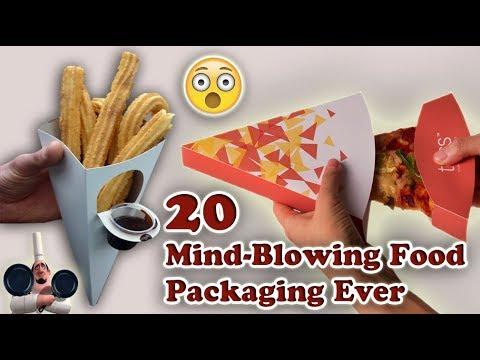 Top 20 Mind-blowing Food Packaging. (Part 1).
