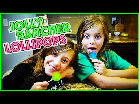 🍭DIY JOLLY RANCHER LOLLIPOPS🍭 FOOD FRIDAY WITH BLOOPERS!! | SMELLY BELLY TV