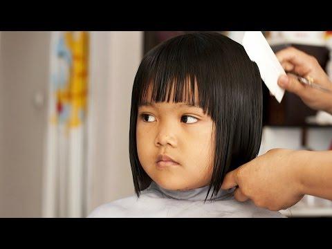 Kid's Hair Cut How-To: How to Cut Your Kid's Hair#Baby cut hair #
