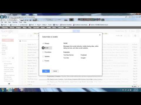 How to get back your old gmail inbox