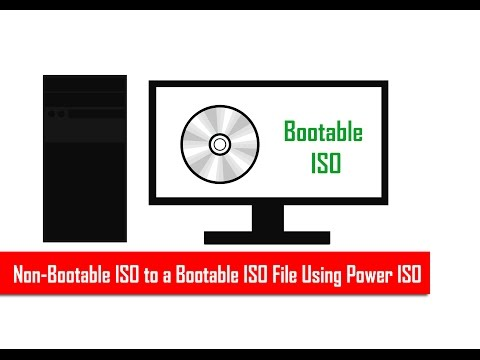 How to Add Boot Information On a Non Bootable ISO File | TKW