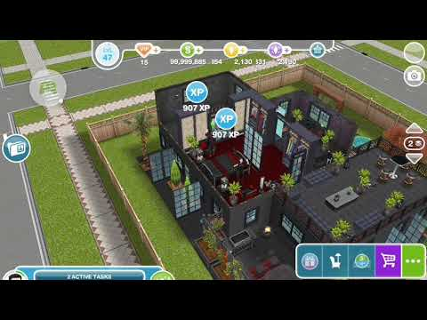 The Sims Freeplay - Make a Fancy Coffee at the Community Center - Weekly Task