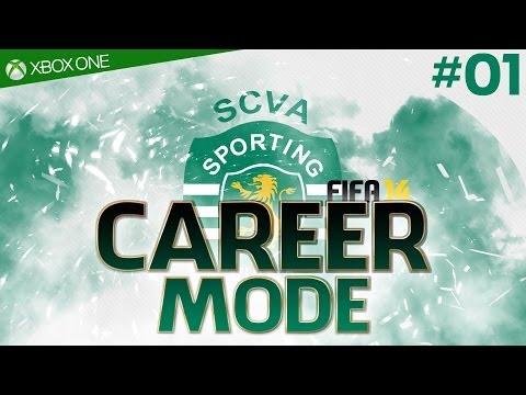 FIFA 14 : SPORTING LISBON Career Mode - #01 New Series, Pre-Season (Xbox One 1080p HD)