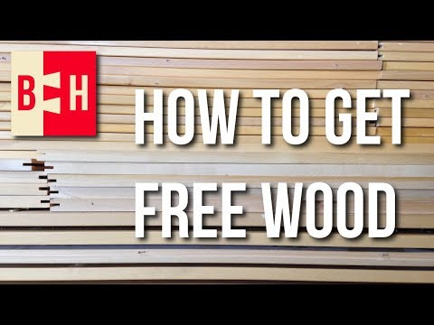How to Get Wood for Free