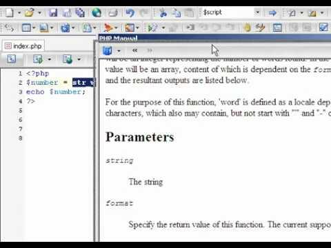 024 الفانكشن الجاهزة str word count في لغة PHP