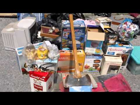Treasure Hunting Storage Unit Auctions Storage Wars  A&E I HIT THE LOTTERY! (sort of)