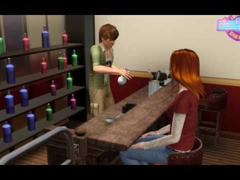 The Sims 3 - Practicing Mixology