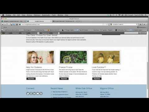 Editing PureVision Wordpress Theme Homepage