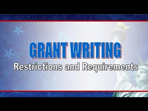 Grant Writing How To Information Restrictions and Requirements of Writing Grant Proposal