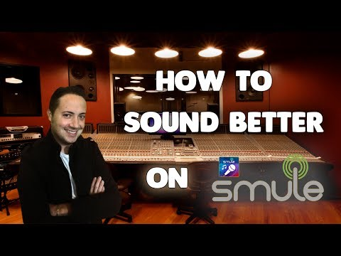 Tutorial - How to Sound Better on Smule (iOS Version)