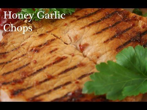 Ontario Pork Cooking: Honey Garlic Chops