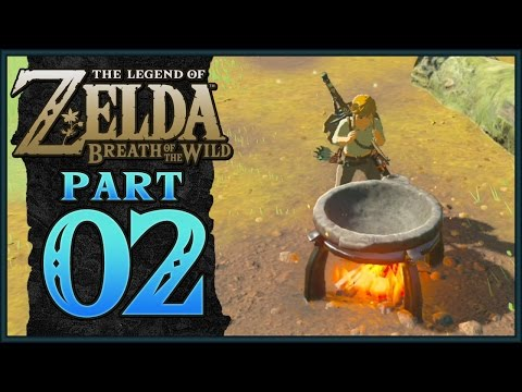 The Legend of Zelda: Breath of the Wild - Now We are Cooking | Part 2