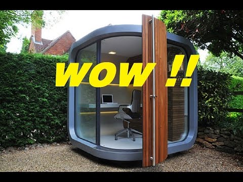 Backyard Office Idea