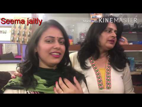 Long to short Bob cut/ How to change your look by hair cut Seema jaitly