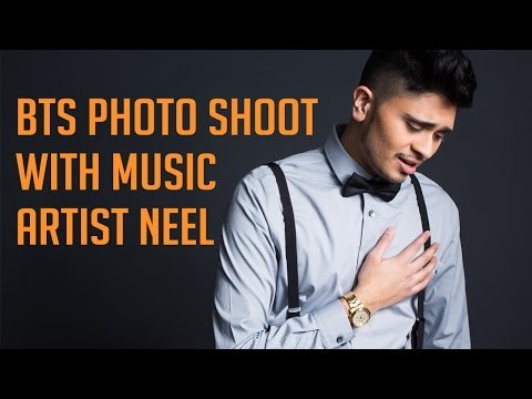 Behind the Scenes Photo Shoot with Music Artist Neel