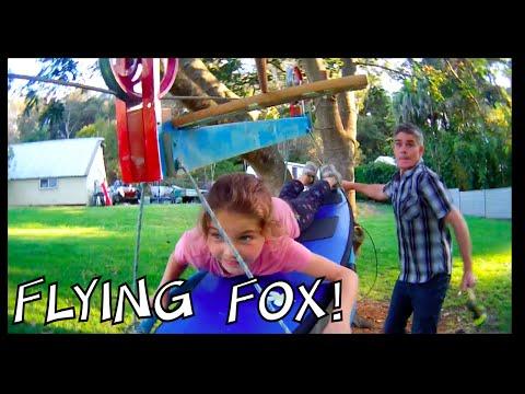 Make a Zipline or Flying Fox at home – Make Science Fun