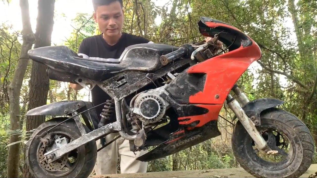 Restoration MotoGP HONDA SPOSRT old | Restore motorbike two-stroke racing