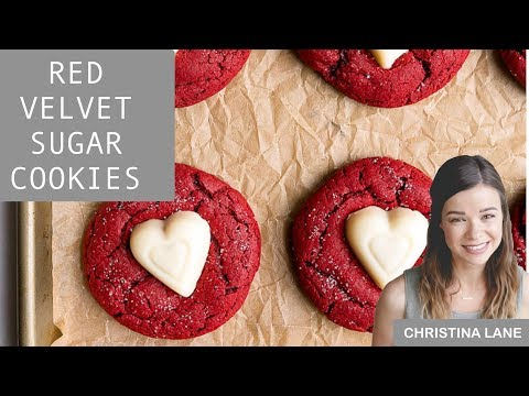 Red Velvet Sugar Cookies (small batch recipe!)