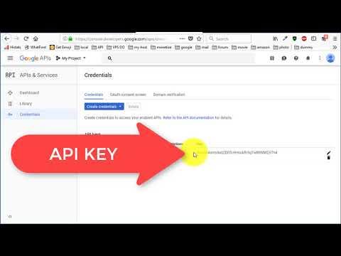 How To Get Google Api Key & Enable Google Books API