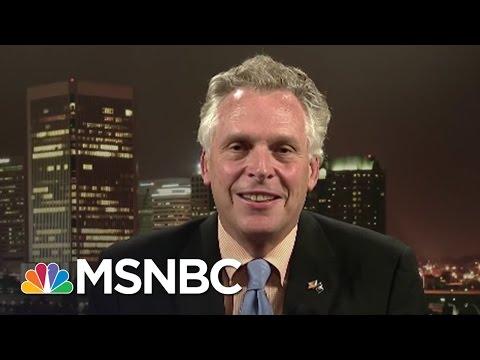 Virginia Governor Terry McAuliffe On Gun Control, 2016 Election   Hardball   MSNBC