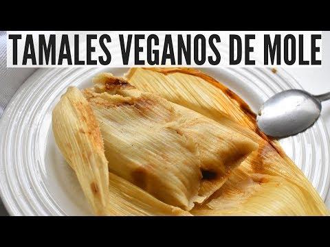 TAMALES VEGANOS DE MOLE