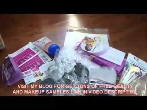 Tips to Get Free Beauty & Cosmetic Products! Free Samples & Freebies Online 2018