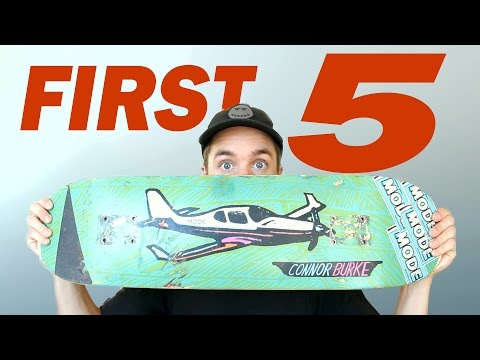 FIRST 5 FREESTYLE TRICKS TO LEARN | Finally Set Up My Street Deck!