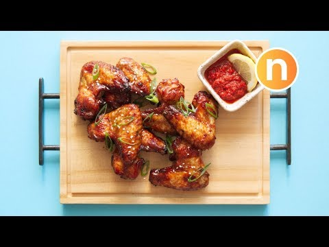 🤤 THE BEST Grilled Soy Sauce Chicken | 烤雞翅 [Nyonya Cooking]