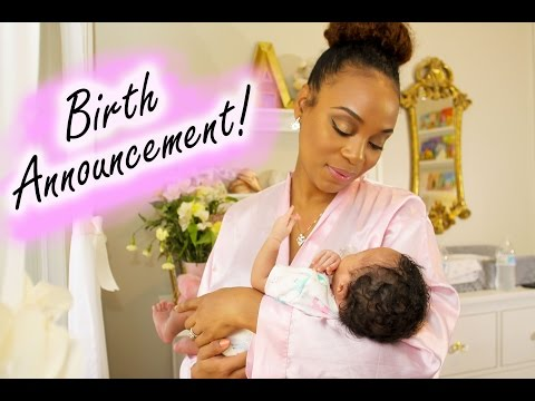GRWM | My Official YouTube Birth Announcement Featuring COVERGIRL!