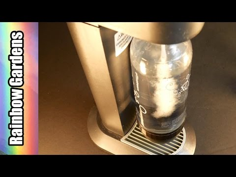 4K My Favorite Drink - Fizzy Water with the SodaStream! How to Use,  Review & More