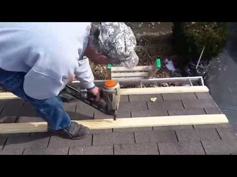 Install Flashing on a Metal Roof