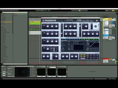 How to make gliding bass line