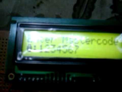 digital code lock system___www.booknstuff.com