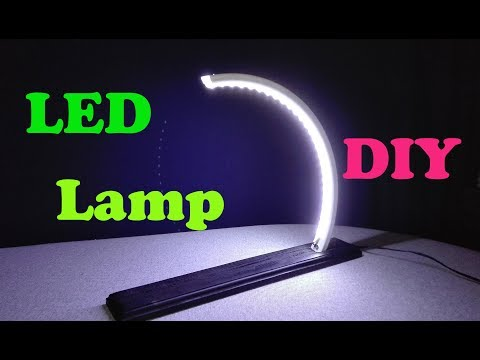 How To make modern LED Lamp using old Rim of Bike DIY