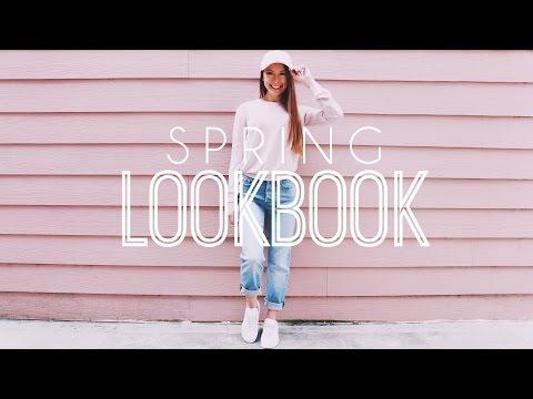 Spring Lookbook // OOTW // 5 Spring Outfits!