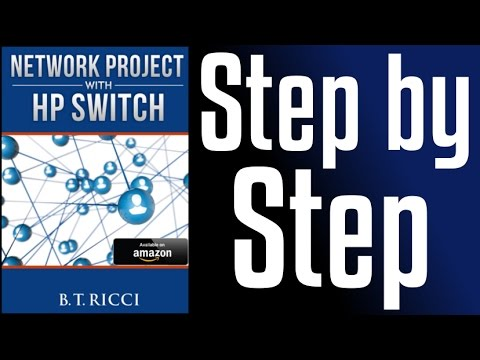 HP Switch - Configuration step by step