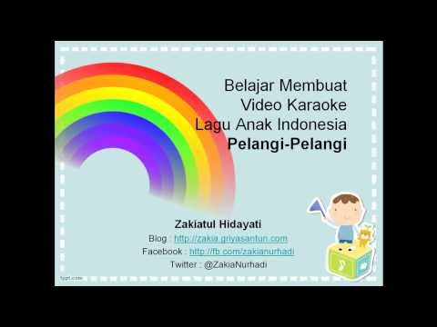 Membuat Video Karaoke Menggunakan PowerPoint