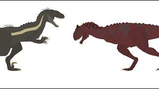 Indoraptor vs Carnotaurus