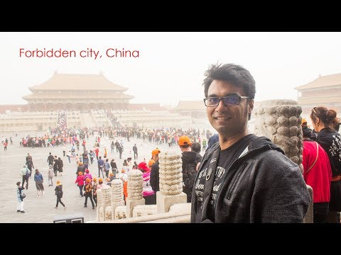Visiting Forbidden City, Temple of Heaven, Summer Palace in Beijing, China