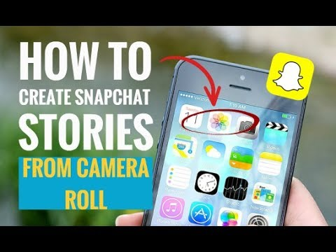 How to Create Snapchat Stories from Camera Roll
