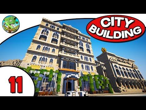 Minecraft City Building E11 - Lego Store!
