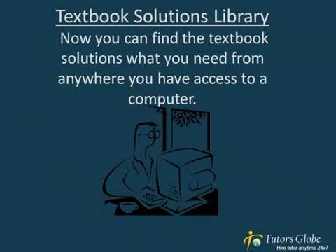 Free Textbook solutions and Solution library at Tutorsglobe